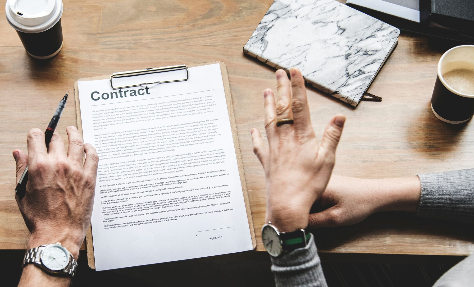 Answers from an actual lawyer: Are my vendor agreements legit?